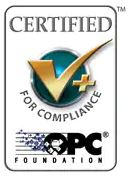 Certified for Compliance OPC Foundation